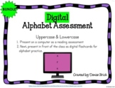 Digital Alphabet Reading Assessment (PPT) for Distance Learning