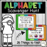 Digital Alphabet Themed Virtual Scavenger Hunt Activity