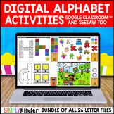 Digital Alphabet for Google Classroom & Seesaw