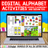 Digital Alphabet for Google Classroom & Seesaw (PRESALE)