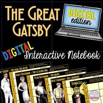 Digital American Literature Digital Novel Units - Growing Bundle