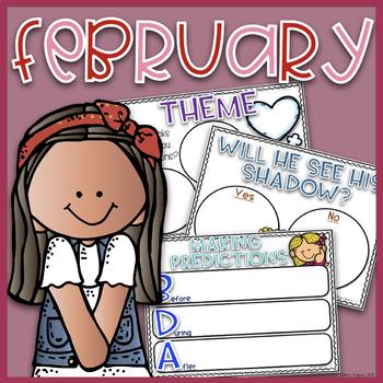 Digital Anchor Charts~ February EDITABLE