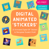 Digital Animated Stickers for Big Kids - Distance Learning