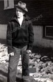 Digital Antique Image Young Man in High School 1948
