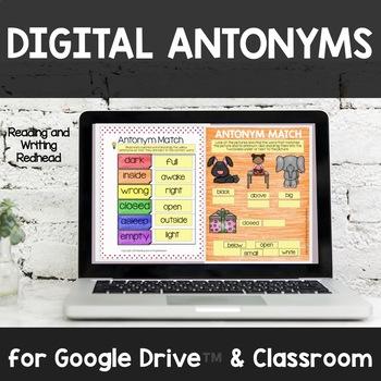 Digital Antonym Match for Google Drive