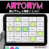 Digital Antonyms Bingo Game {Google Slides}