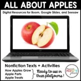 Digital Apples Activities - Boom, Seesaw, and Google Slide