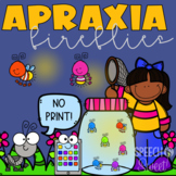 Digital Apraxia Fireflies Game for Speech Therapy