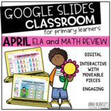Digital April Math and ELA Review