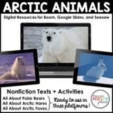 Digital Arctic Animal Activities - Boom, Seesaw, & Google Slides