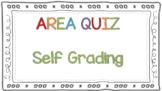 Digital Area Assessments for Google Forms Self Grading