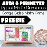 Digital Area and Perimeter Dominoes l Distance Learning