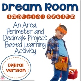 Digital Area and Perimeter Project  (Imperial Version) for