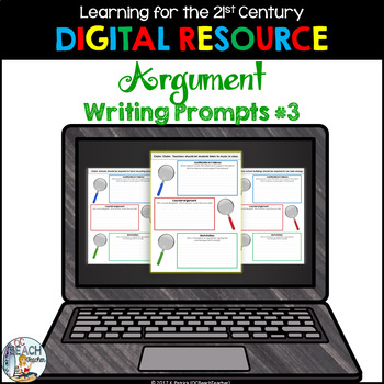 Digital Argument Writing Prompts #3