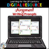 Digital Argument Writing Prompts