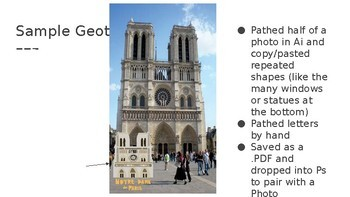 Digital Art Project: Snapchat Geofilters