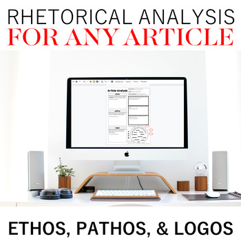Rhetorical Analysis For Any Article