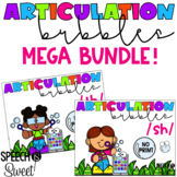 Digital Articulation Bubbles Games {A Growing Speech Thera