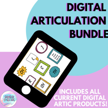 Digital Articulation Bundle | No Prep, No Print