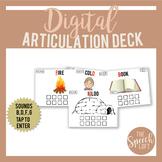 Digital Articulation Deck B, D, F, G | Distance Learning |