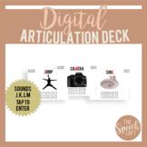 Digital Articulation Deck J, K, L, M | Distance Learning |