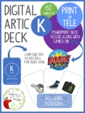 Digital Articulation Deck - K in All Word Positions