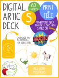 Digital Articulation Deck - S in All Word Positions