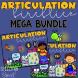 Digital Articulation Fireflies Games {A Speech Therapy Bundle}