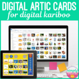 Digital Articulation Photo Cards for Digital Kariboo in Teletherapy or on iPad