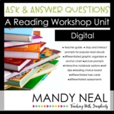 Digital Ask and Answer Questions Reading Workshop Unit | D