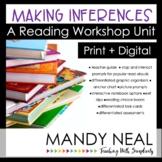 Making Inferences Reading Workshop Unit | Print + Digital Bundle