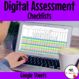 Digital Assessment Checklists For Google Sheets