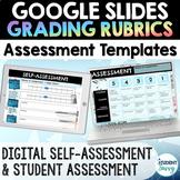 Digital Assessment & Student Self-Assessment Template Goog