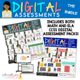 Digital Assessments for KINDERGARTEN: The BUNDLE!