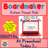 Digital At Preschool Today I - Digital Visual Aids for Autism & SPED