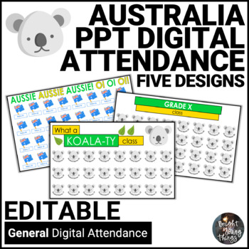 Digital Attendance - Australia (Interactive Whiteboard)