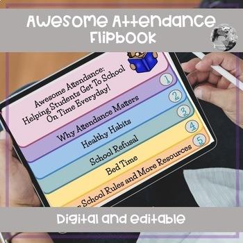 Digital Attendance Flipbook for Parents