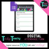 Digital Attendance Form