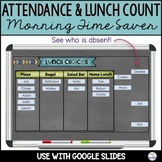 Digital Attendance and Lunch Count   Google Slides