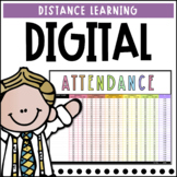 Digital Attendance for Google Sheets   Editable