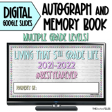 Digital Autograph Memory Book for Distance Learning