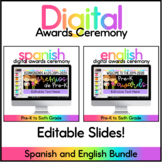 Digital Awards Ceremony   Google Slides™ & Powerpoint