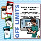 Digital Awareness OFF Limits Game #counselorgems