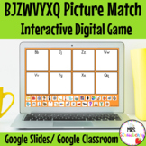 Digital BJZWVYXQ Picture Sort For Google Slides and Google Classroom