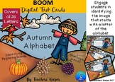 Digital BOOM Task Cards: Autumn Alphabet