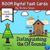 Digital BOOM Task Cards: Distinguishing CH Sounds