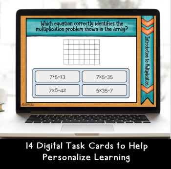 Digital BOOM Task Cards:Introduction to Multiplication