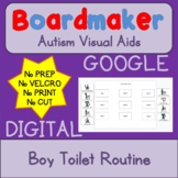 Digital BOY Toilet Routine Digital Visual Aids for Autism