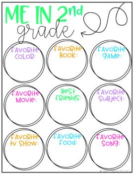 Digital Back to School Activities {2nd Grade}