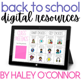 Digital Back to School Activities {Beginning of the Year G